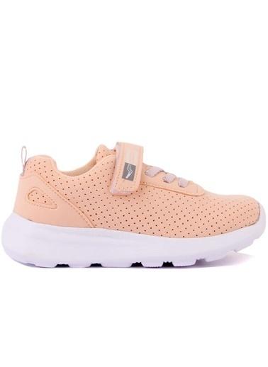 Cool 20-S20 Pudra Kız Çocuk Fileli Günlük Spor Ayakkabı Pudra